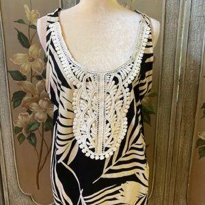 MERONA sleeveless top Size Large